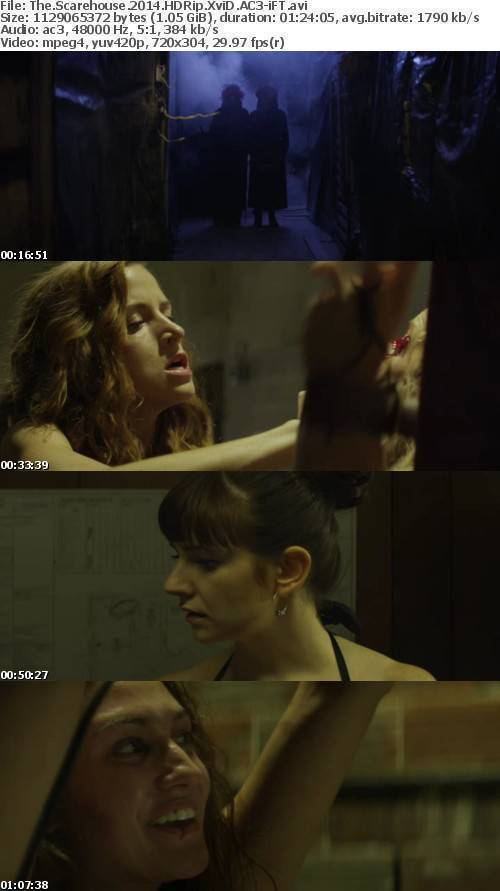 The Scarehouse 2014 HDRip XviD AC3-iFT