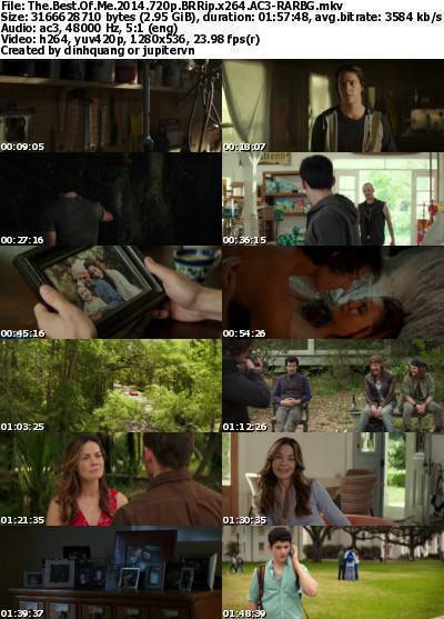 The Best of Me (2014) 720p BRRip x264 AC3-RARBG