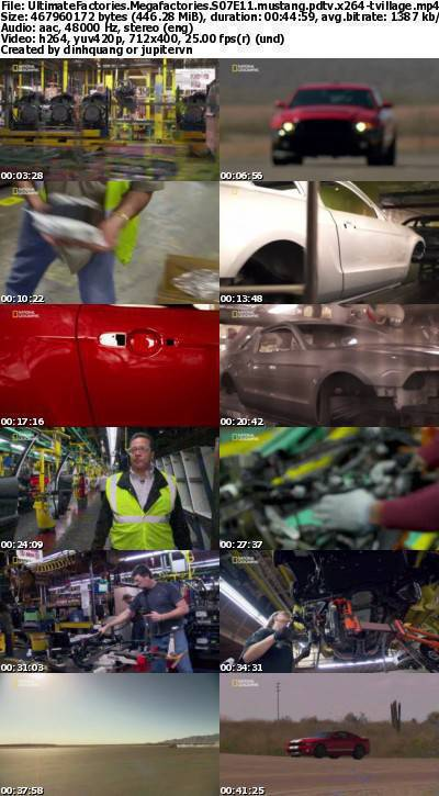 ational Geographic - Megafactories S07E11 Mustang (2012) PDTV x264-TViLLAGE