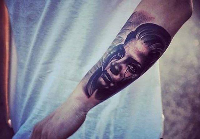 Świetne tatuaże #8 20