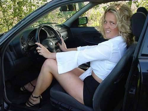 Dziewczyny i BMW 14