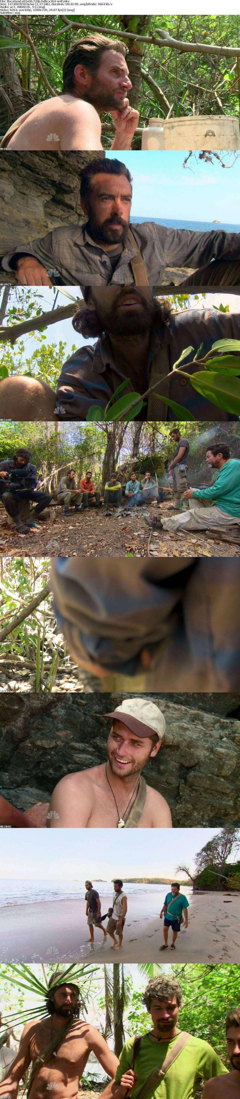 The Island S01E06 720p HDTV x264-W4F