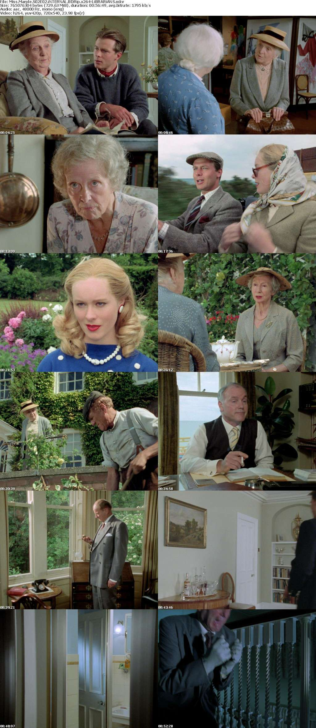 Miss Marple S02E02 iNTERNAL BDRip x264-LiBRARiANS