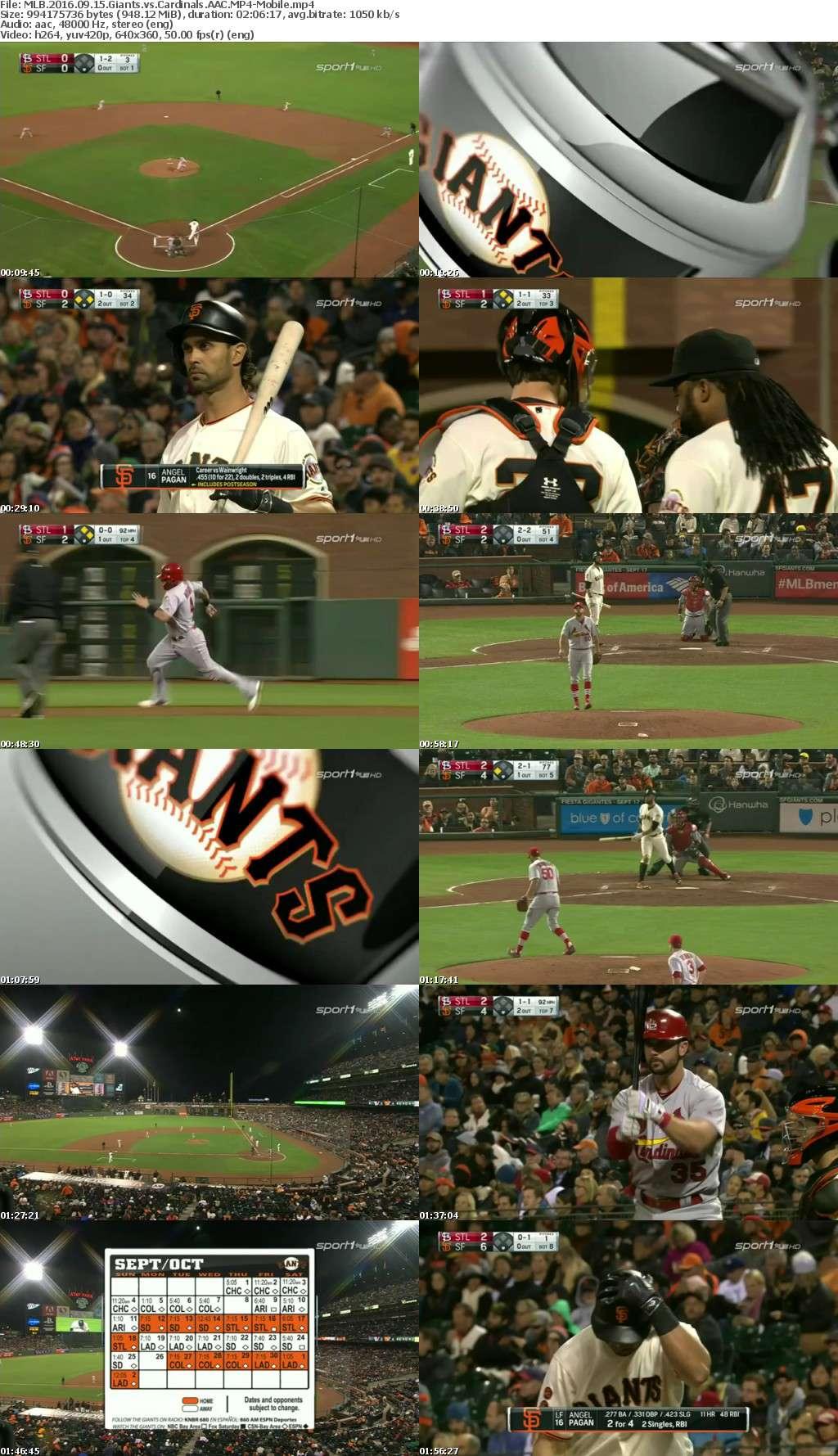 MLB 2016 09 15 Giants vs Cardinals AAC-Mobile