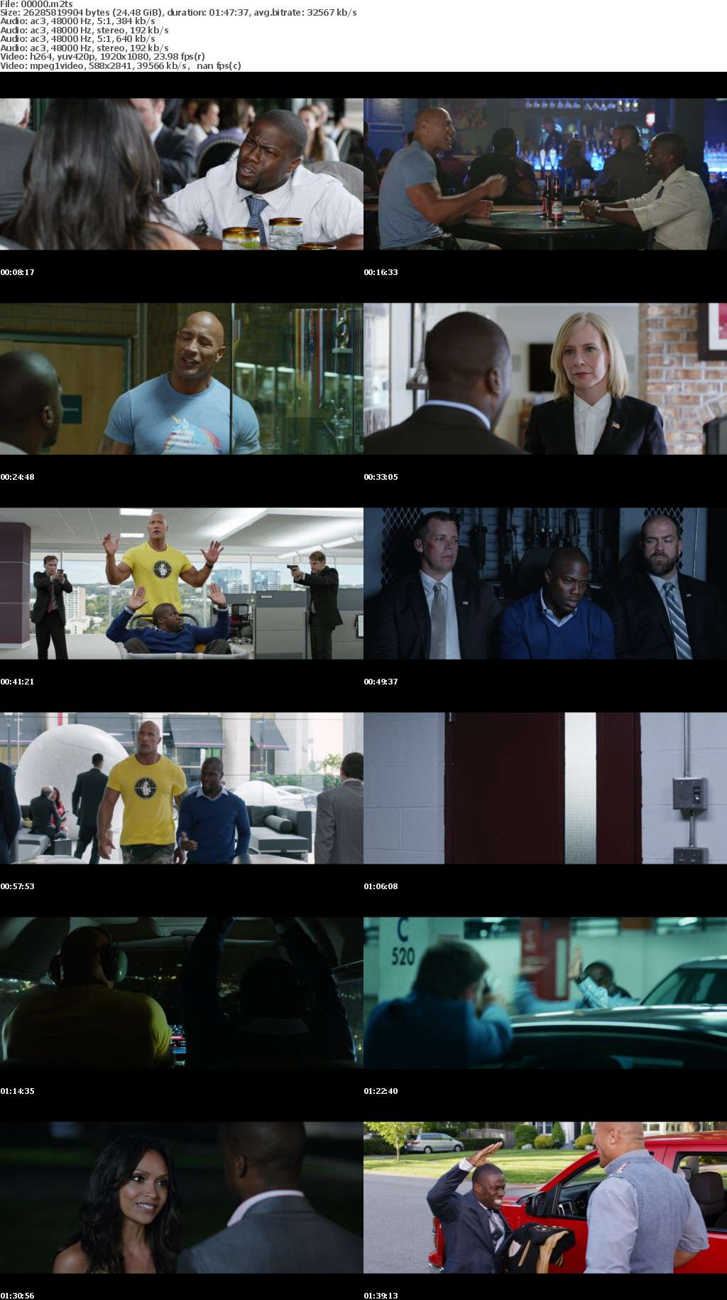 Central Intelligence (2016) [Theatrical Cut] 1080p BD-Remux