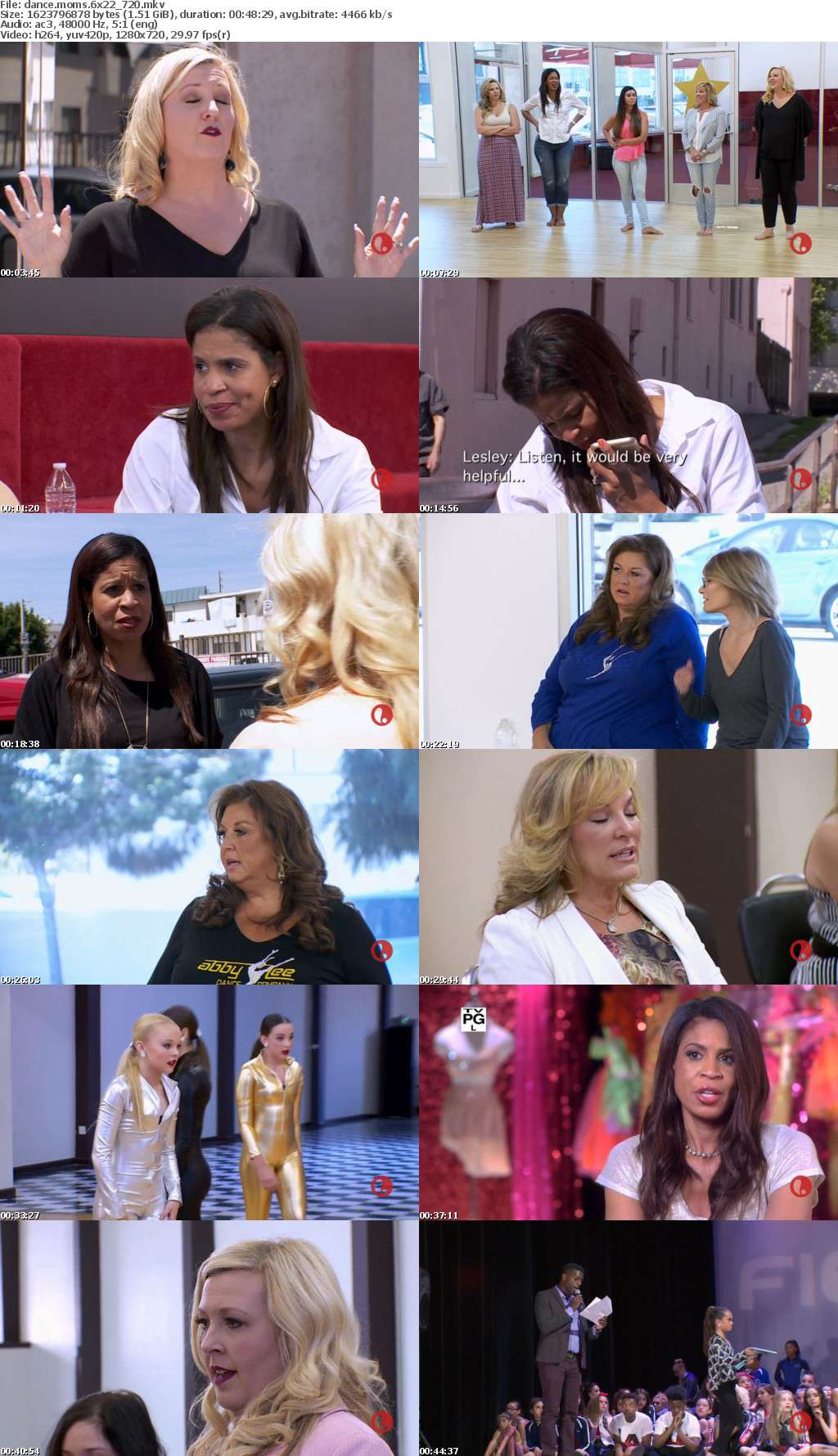 Dance Moms S06E22 Nia And Kendall Face Off 720p HDTV x264-WaLMaRT