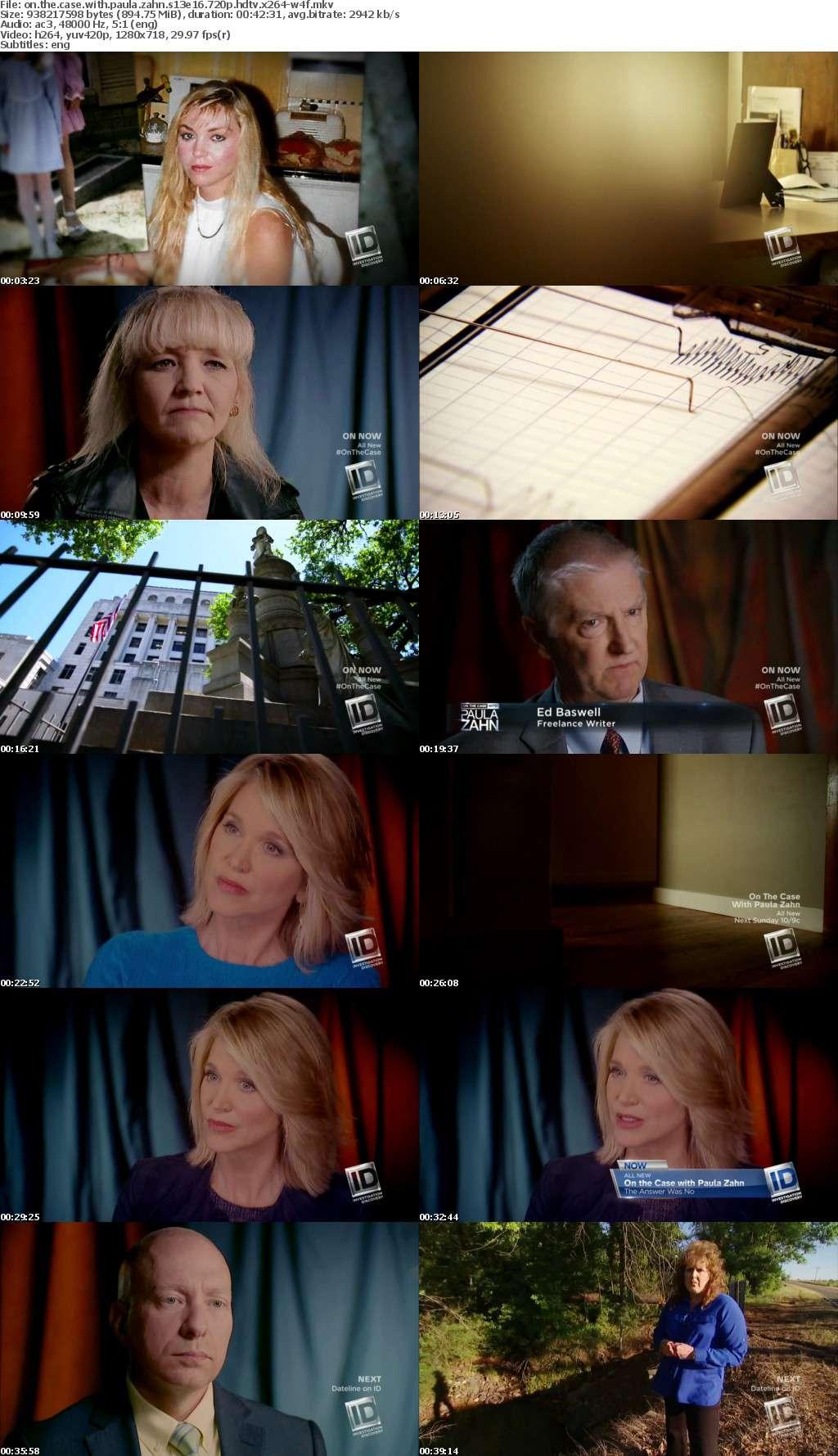 On the Case with Paula Zahn S13E16 720p HDTV x264-W4F