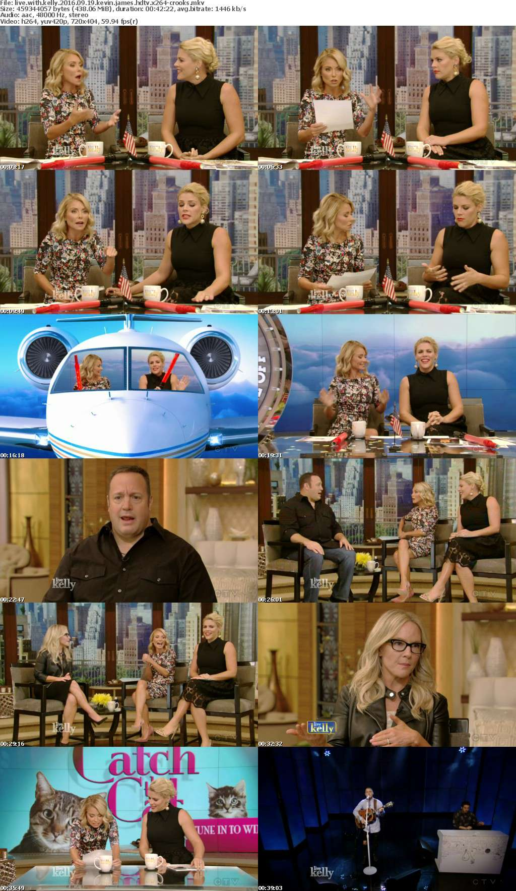 LIVE with Kelly 2016 09 19 Kevin James HDTV x264-CROOKS