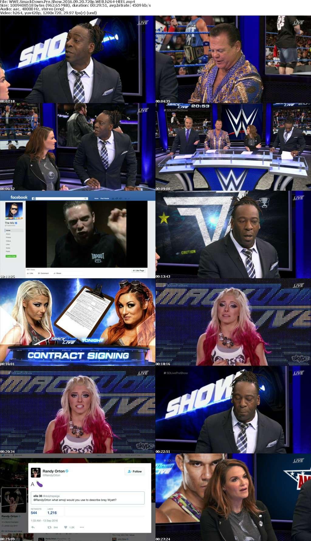WWE SmackDown Pre Show 2016 09 20 720p WEB h264-HEEL