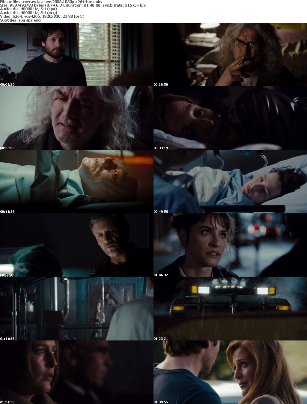 X-Files Creer Es La Clave 2008 SPANiSH MULTi 1080p BluRay x264-TORO