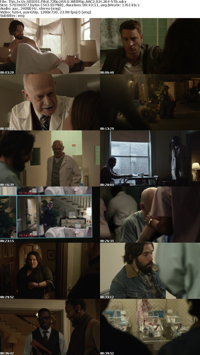 This Is Us S01E01 Pilot 720p HULU WEBRip AAC2 0 H 264-NTb