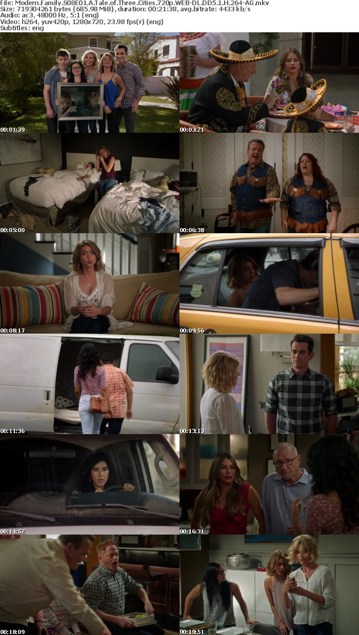 Modern Family S08E01 A Tale of Three Cities 720p WEB-DL DD5 1 H 264-AG