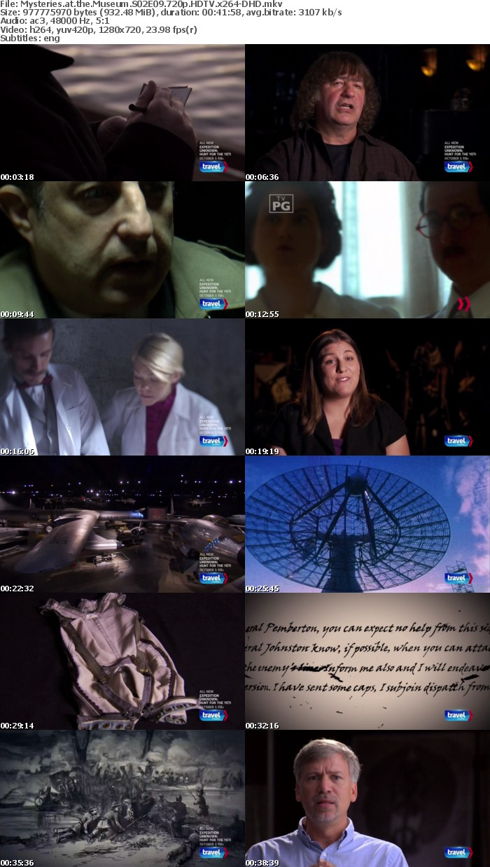 Mysteries at the Museum S02E09 720p HDTV x264-DHD