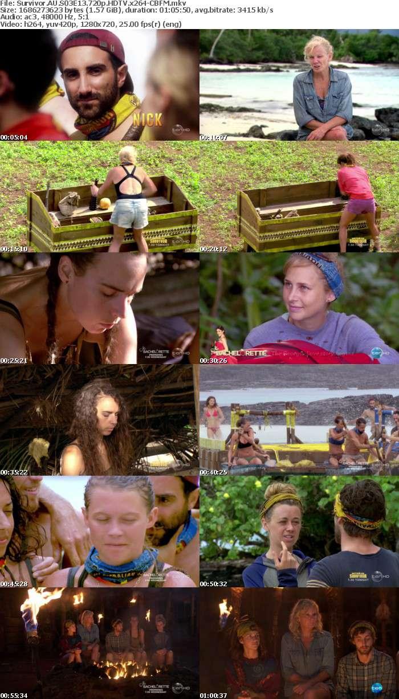 Survivor AU S03E13 720p HDTV x264-CBFM