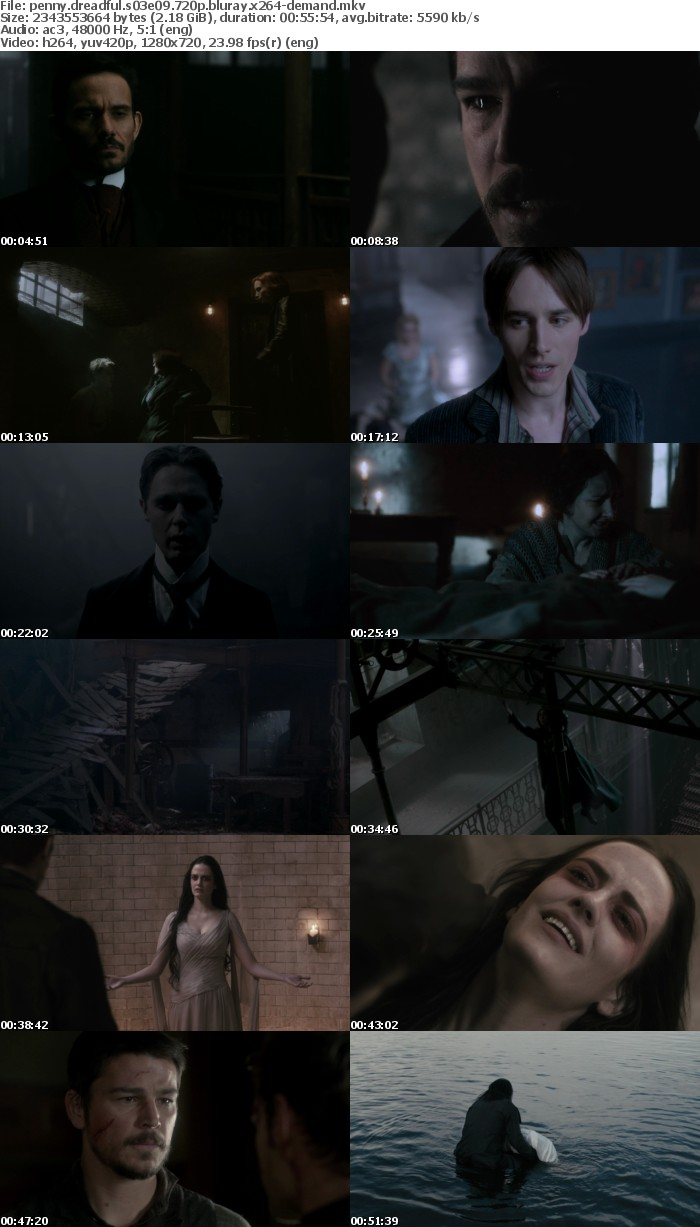 Penny Dreadful S03 720p BluRay x264