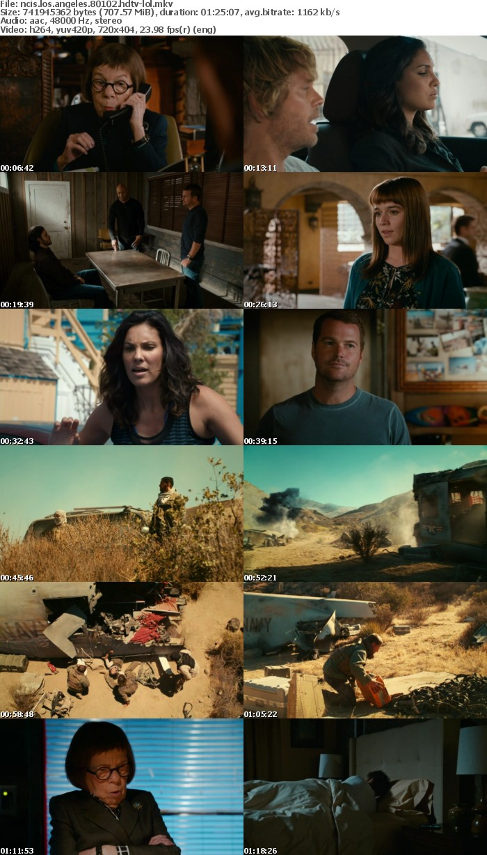 NCIS Los Angeles S08E01E02 HDTV x264-LOL