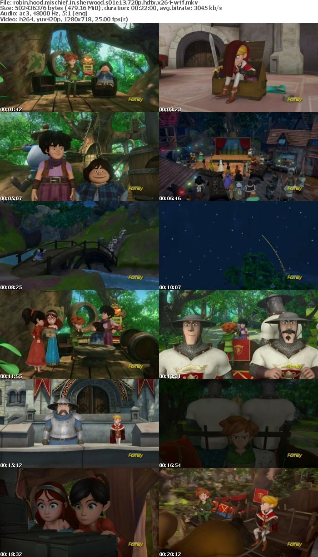 Robin Hood Mischief in Sherwood S01E13 720p HDTV x264-W4F