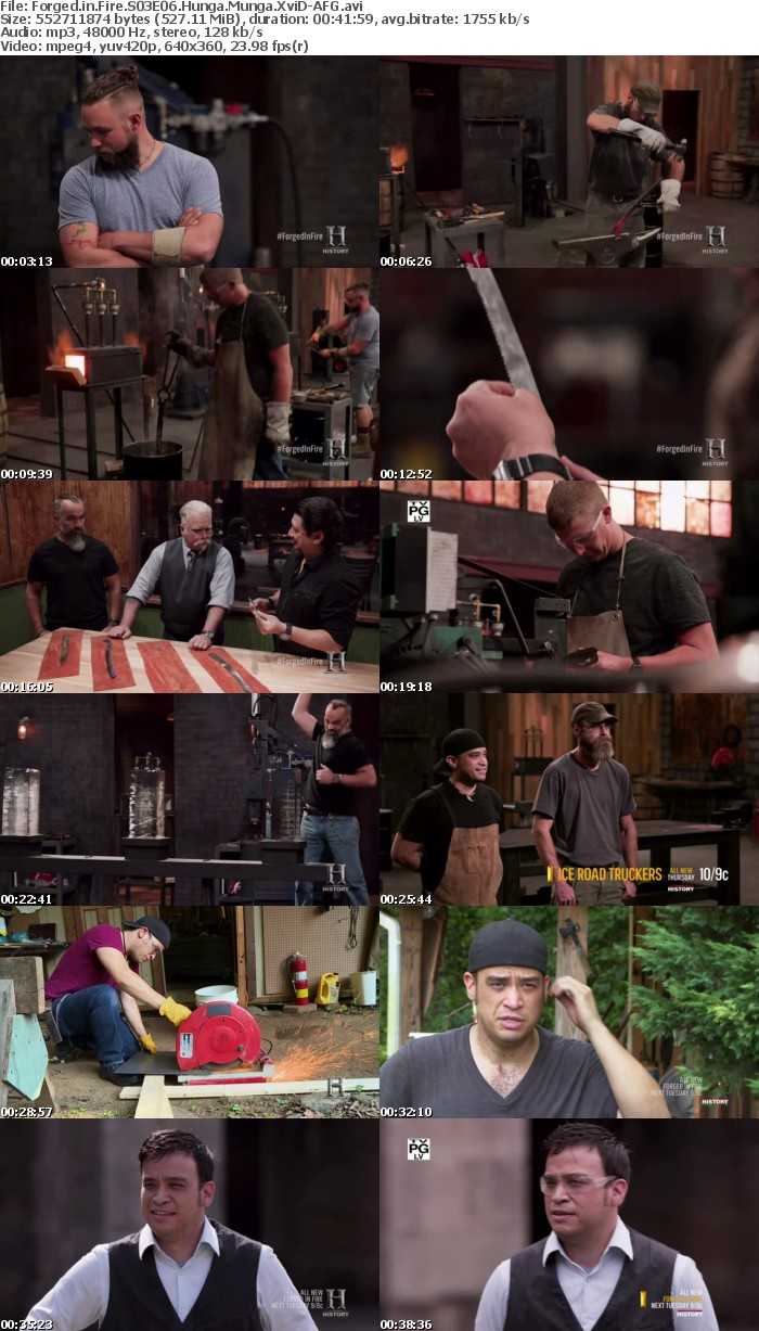 Forged in Fire S03E06 Hunga Munga XviD-AFG
