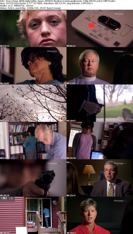 True Crime With Aphrodite Jones S05E07 Broken Commandments 720p HDTV x264-CBFM