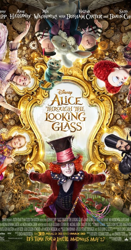 Alice Through the Looking Glass (2016) 1080p BD-Remux