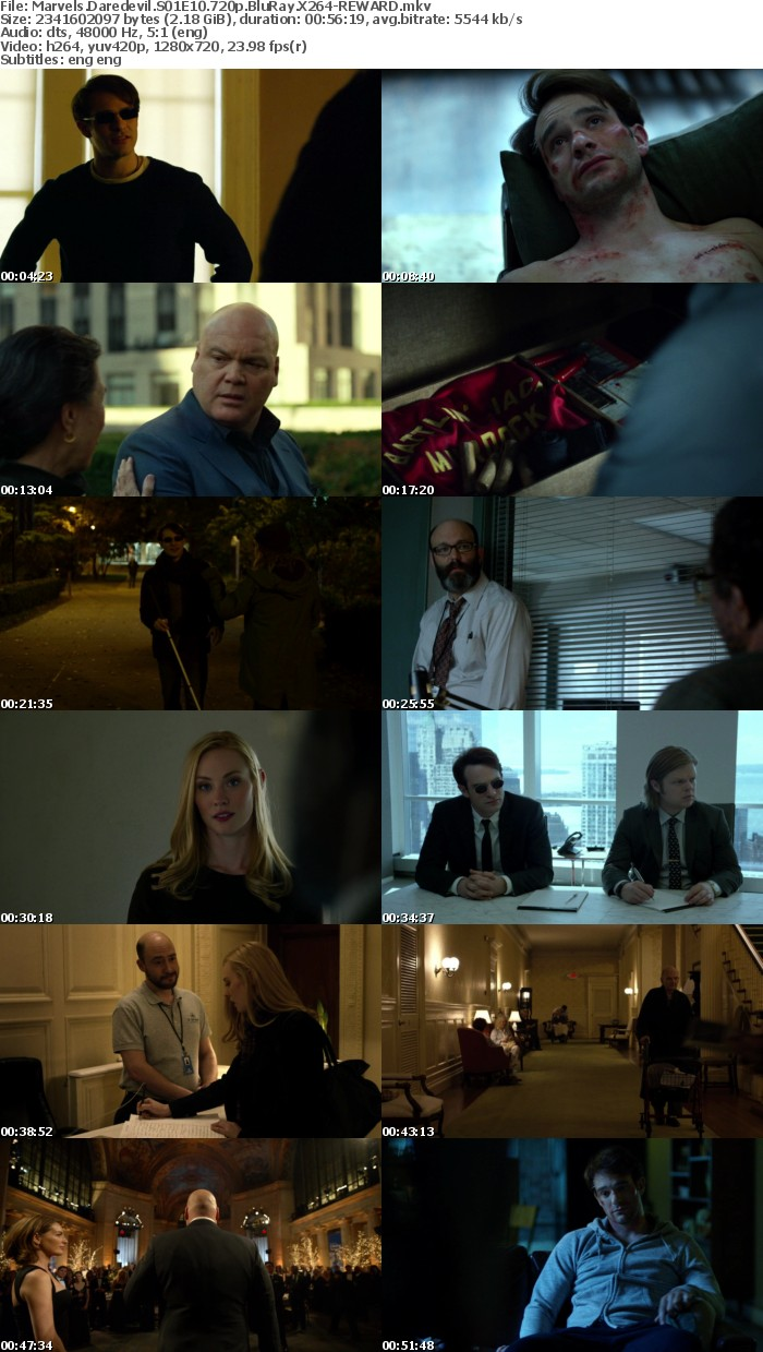 Marvels Daredevil S01 720p BluRay x264