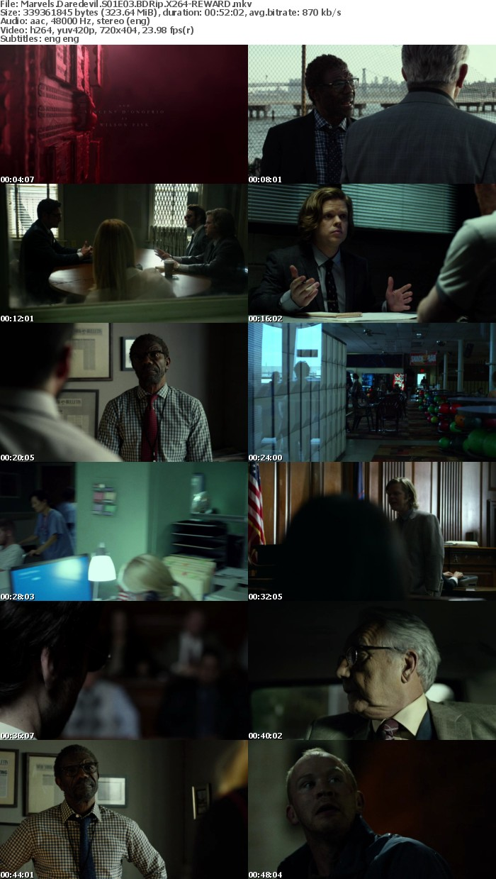 Marvels Daredevil S01 BDRip X264
