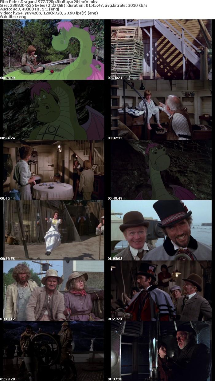 Petes Dragon 1977 720p BluRay x264 x0r