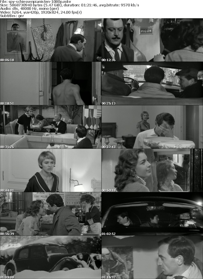 Schiessen Sie auf den Pianisten 1960 German 1080p BluRay x264-SPiCY
