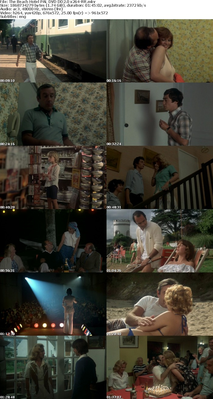 The Beach Hotel 1978 DVDRiP PAL DD2 0 x264-RR