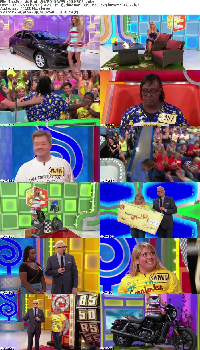 The Price Is Right S45E013 WEB x264-ROFL