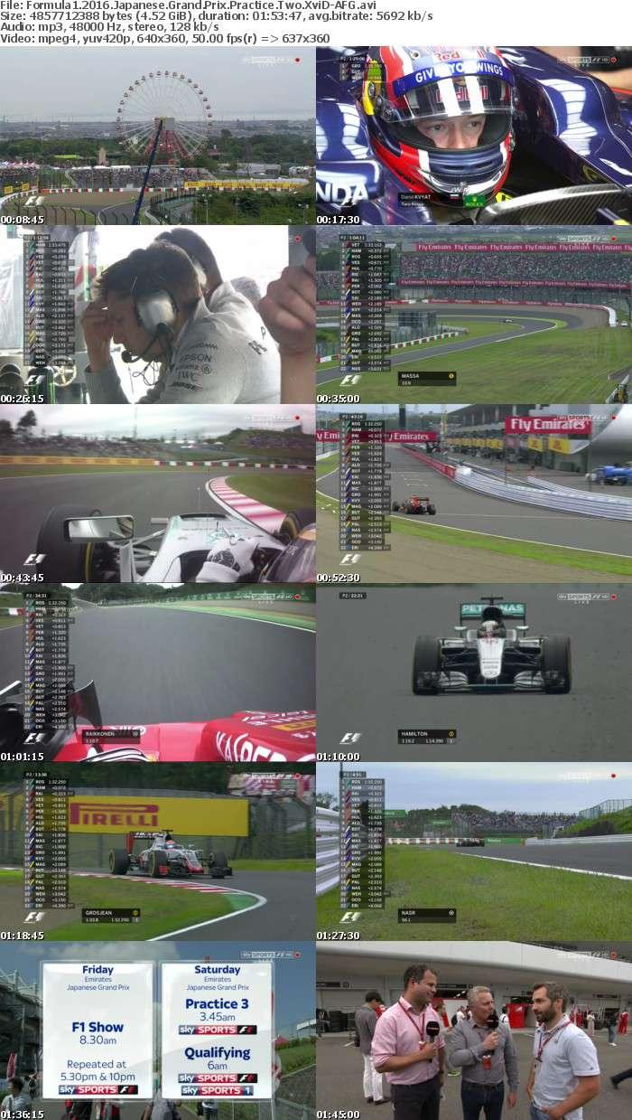 Formula1 2016 Japanese Grand Prix Practice Two XviD-AFG