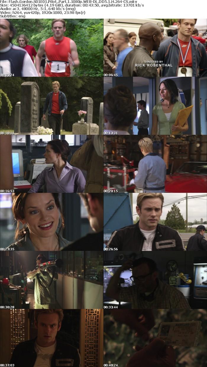 Flash Gordon S01E01 Pilot, Part 1 1080p WEB DL DD5 1 H 264 CS