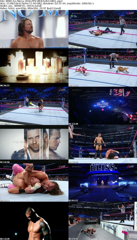 WWE No Mercy 2016 PPV WEB h264-HEEL