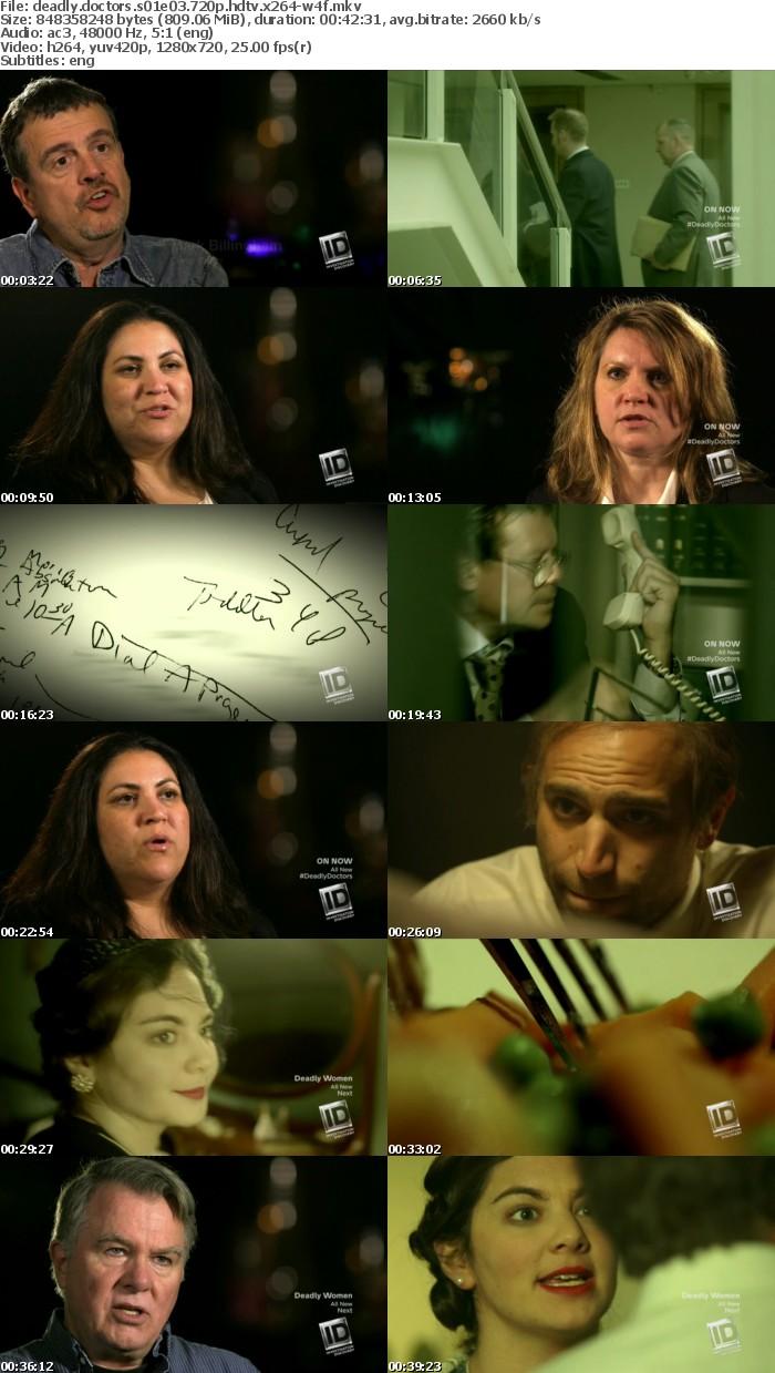 Deadly Doctors S01E03 720p HDTV x264-W4F