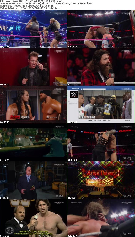 WWE Raw 10 10 16 720p HDTV H264-XWT
