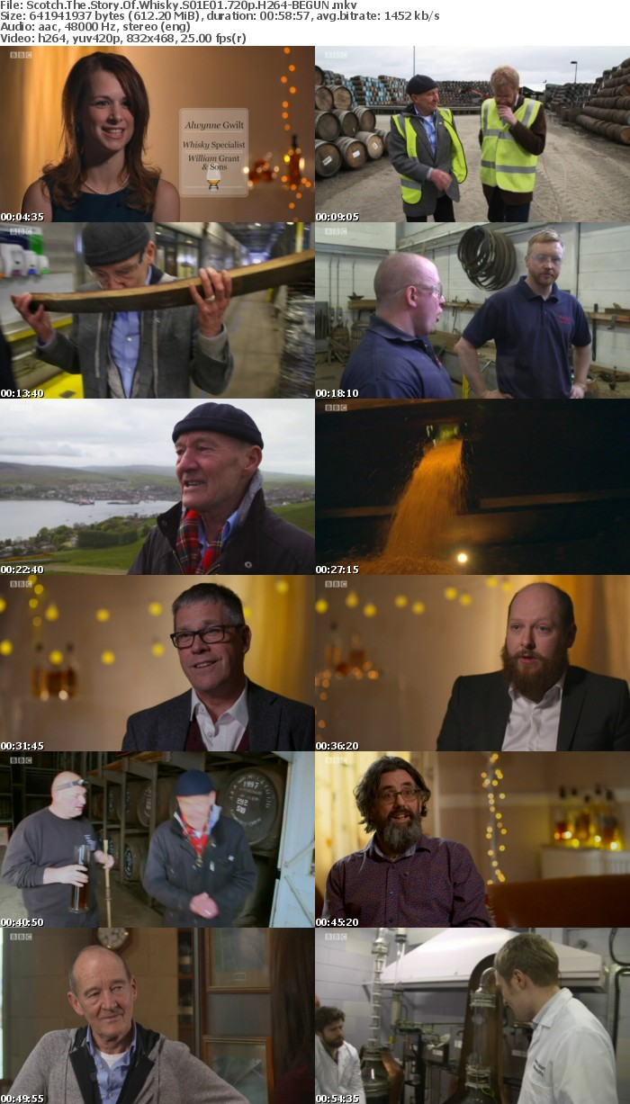 Scotch The Story Of Whisky S01E01 720p H264-BEGUN