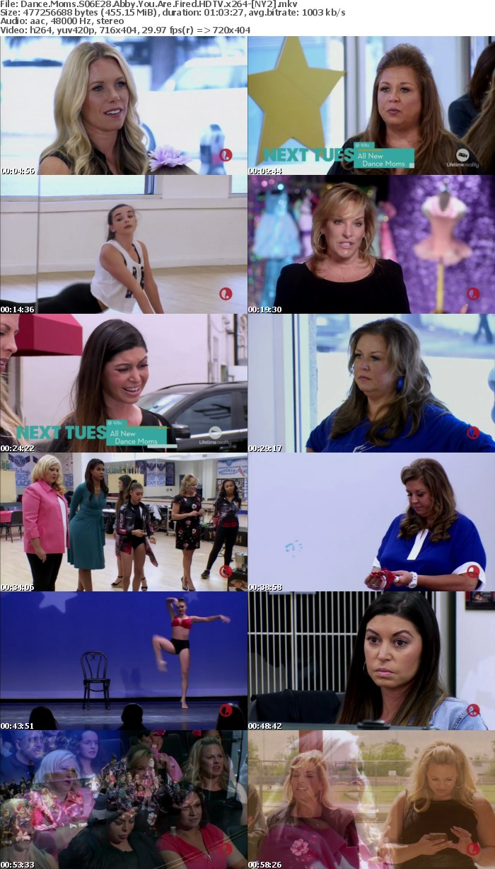 Dance Moms S06E28 Abby You Are Fired HDTV x264 NY2