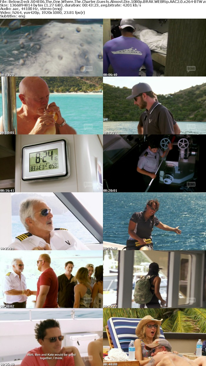 Below Deck S04E06 The One Where The Charter Guests Almost Die 1080p BRAV WEBRip AAC2 0 x264 BTW