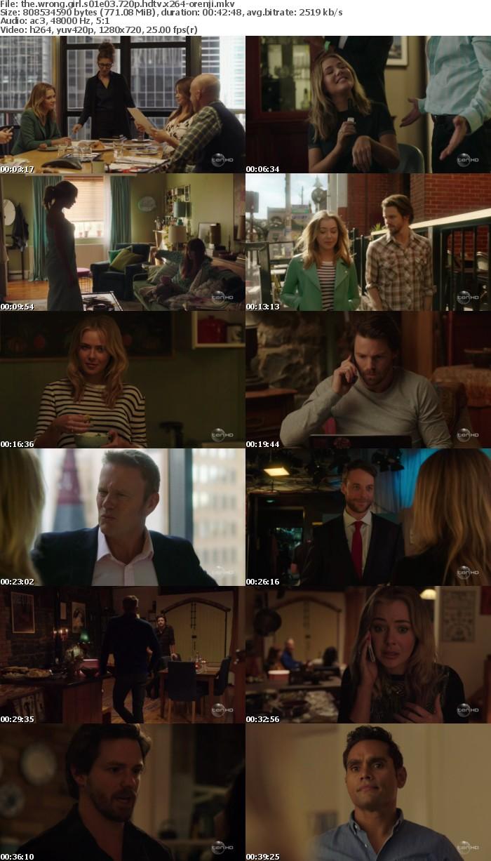 The Wrong Girl S01E03 720p HDTV x264-ORENJI
