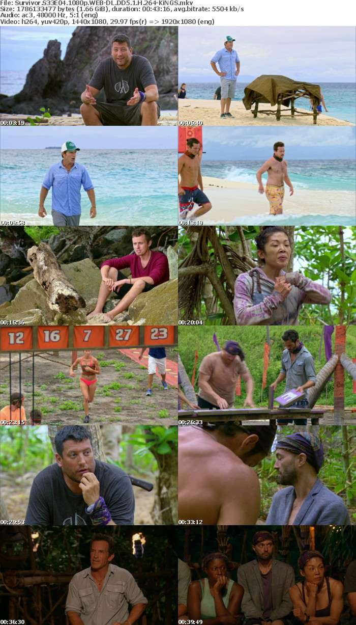 Survivor S33E04 1080p WEB DL DD5 1 H 264 KiNGS