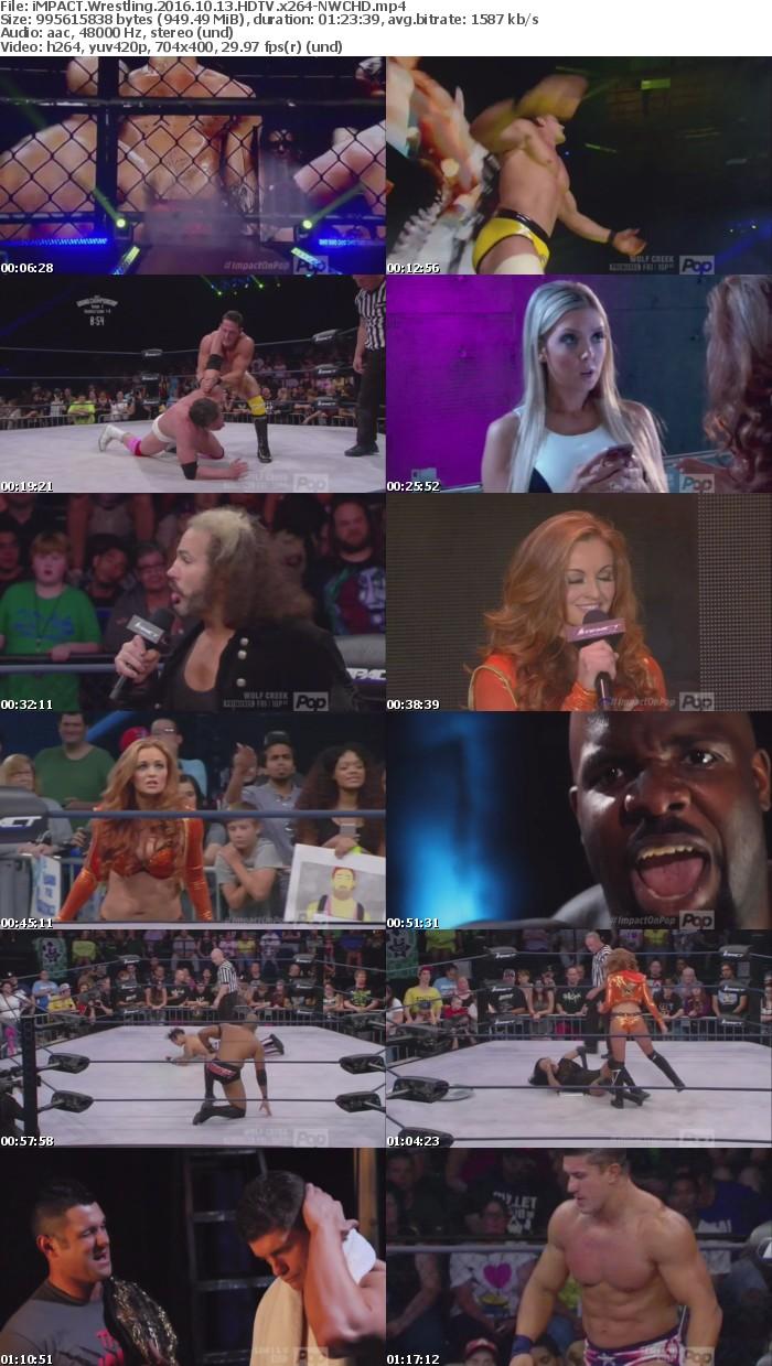iMPACT Wrestling 2016 10 13 HDTV x264-NWCHD