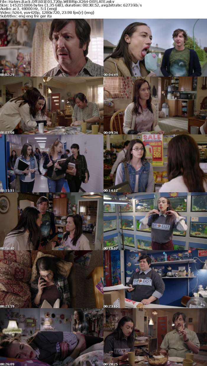 Haters Back Off S01E01 720p WEBRip X264-DEFLATE