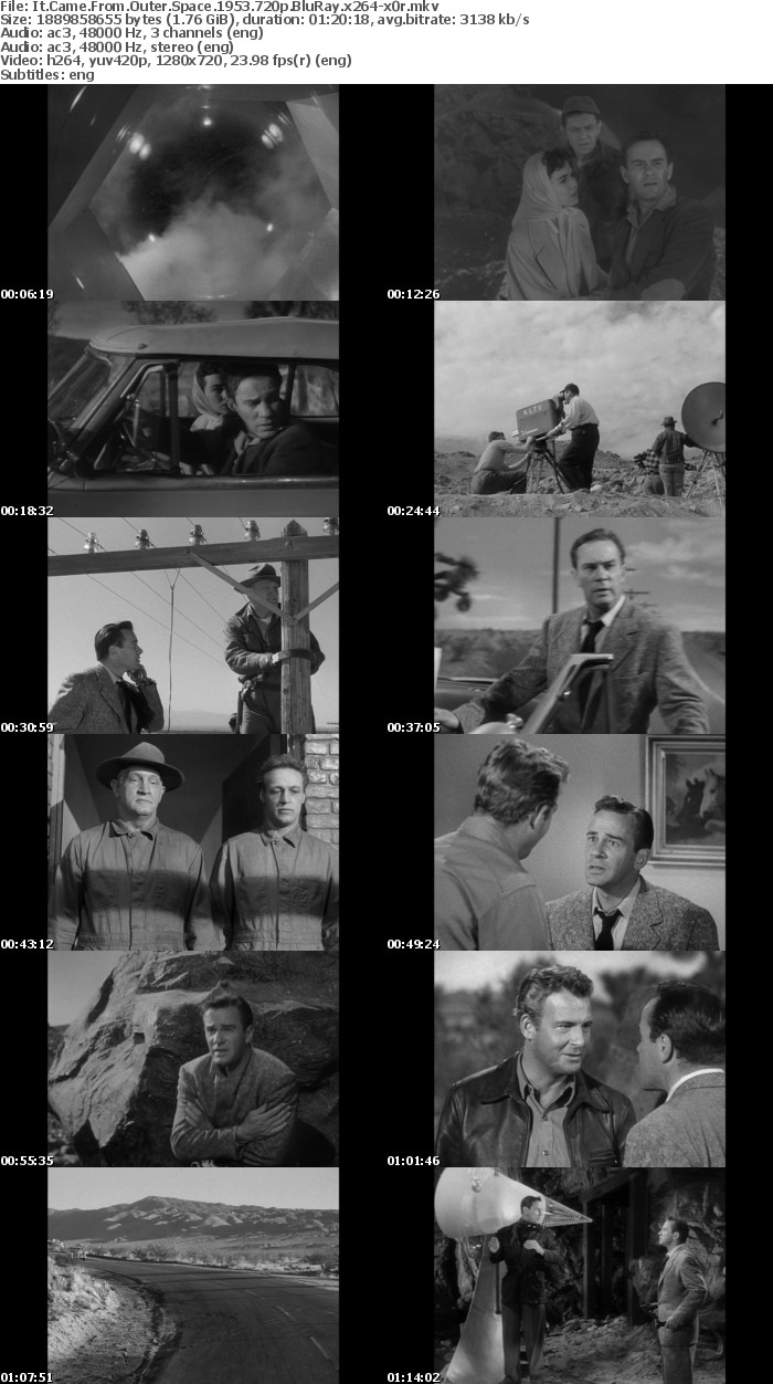It Came From Outer Space 1953 720p BluRay x264-x0r