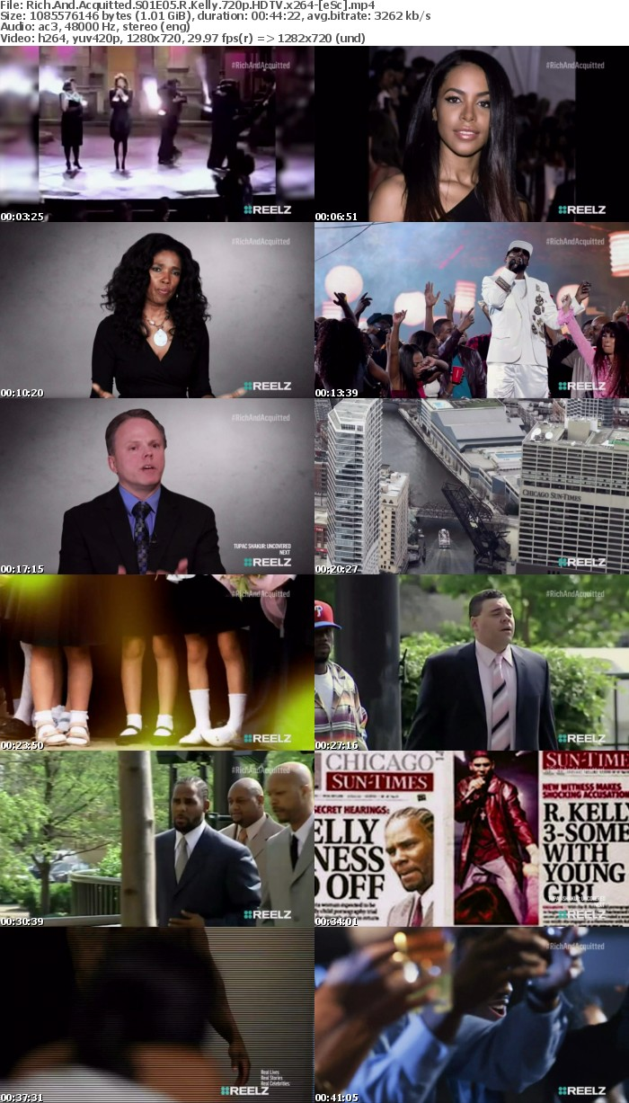 Rich And Acquitted S01E05 R Kelly 720p HDTV x264-[eSc]