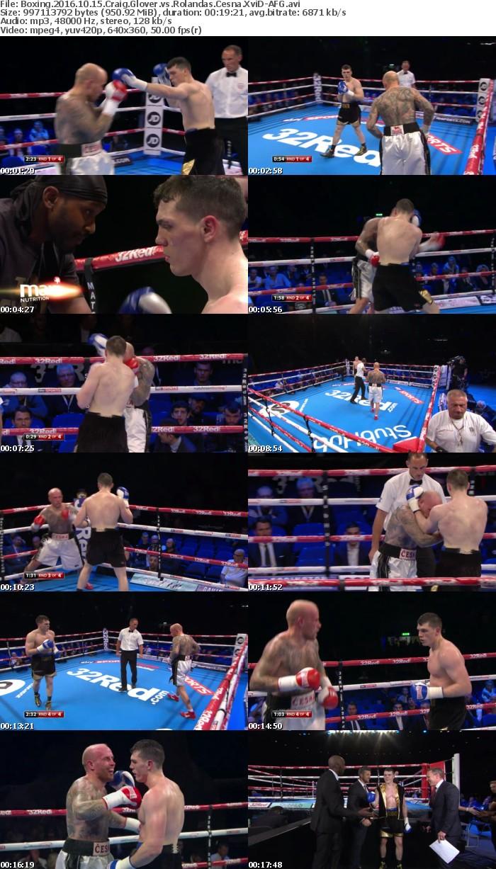 Boxing 2016 10 15 Craig Glover vs Rolandas Cesna XviD-AFG