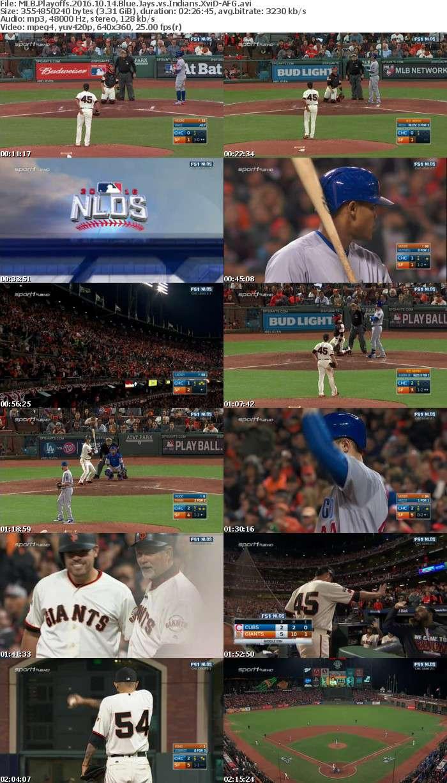 MLB Playoffs 2016 10 14 Blue Jays vs Indians XviD-AFG