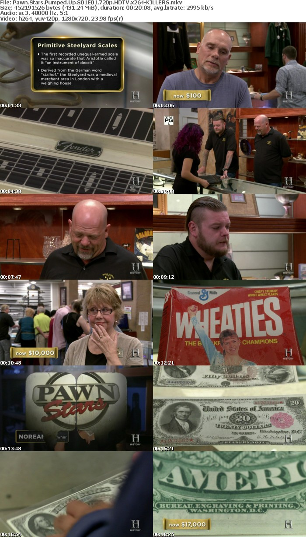 Pawn Stars Pumped Up S01E01 720p HDTV x264-KILLERS