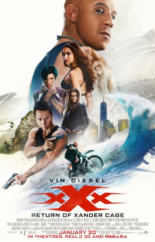 Xxx Return Of Xander Cage 2017 720p Hc Hdrip X264 Ac3-manning