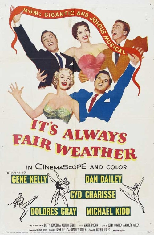 Its Always Fair Weather 1955 720p Bluray X264-sadpanda