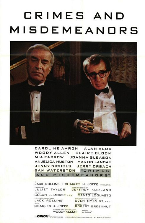 Crimes And Misdemeanors 1989  BluRay x264 DTSSARTRE
